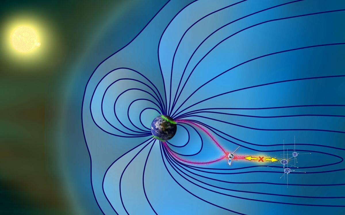 территории картинки электрического поля земли один