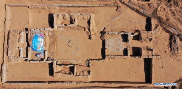 Была раскопана неизвестная часть Великой Китайской стены